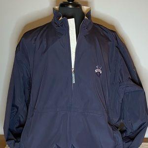 NWT men's Sunice water repellent 1/2 zip jacket.